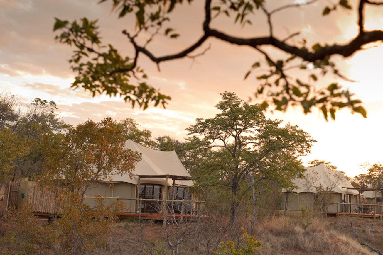 Victoria Falls Elephant Camp
